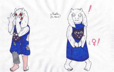 Take care when buying online[Toriel TFTG][P. 4/5] by MaximirusuPauaa