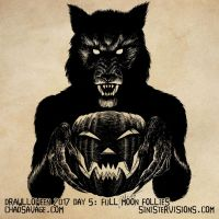 Drawlloween - Full Moon Follies by SavageSinister