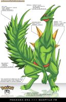 Pokedex 254 - Sceptile FR