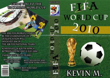 Fifa book cover design by D3sKevin