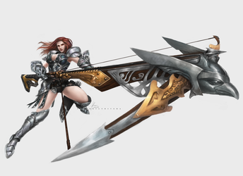 Buster Crossbow by OOQuant