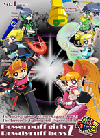 Onlyne Z: PPgz and RRbz Doujinsh vol1 COVER by BiPinkBunny