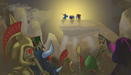 Terraria Community Forums Anniversary Entry by milt69466