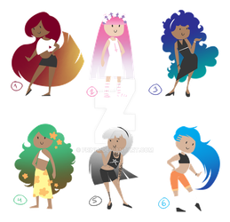 (CLOSED) Multicolor adopts by Frinia