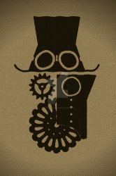 Steampunk Armada logo edited- mat edition by OcioProduction