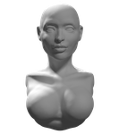 Another head sculpture by BFTU