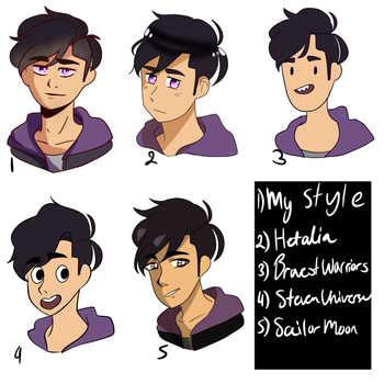 20 art style (pt1) by Shadowstream45