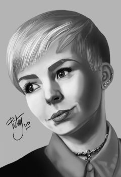 FACE STUDY #8 by pictsy