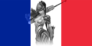 French - Widowmaker by JMK-Prime