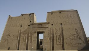 Temple of Horus at Edfu by AndySerrano