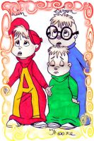 Alvin and the Chipmunks by 7j6