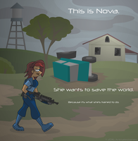 Nova is Off Saving the World by AnimatedJames