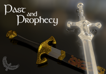Past and Prophecy: Swords of the Dragon by CorellaStudios