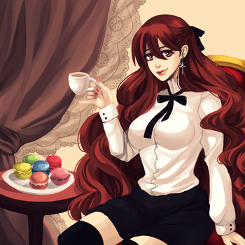 [DGM] Would you like to have a cup of tea? by GazeRei