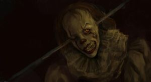 pennywise study by Sipr0na