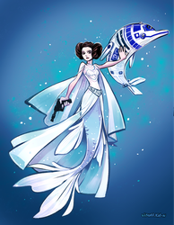 StarWarsDay and MerMay by visualkid-n