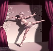The Living Puppet Ballerina by minties