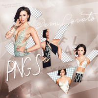 PNG PACK (84) Demi Lovato by iliveforApplause