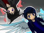 Drawing Contest Entry for RoseandherThorns by forei