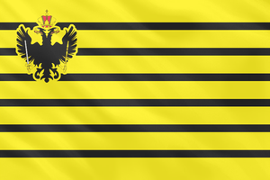 Flag of the Austrian navy (1749 to 1786) by Linumhortulanus