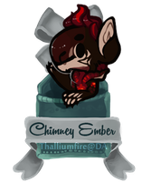 December 3 - Chiimney Ember FXT (teaser chibi) by Thalliumfire
