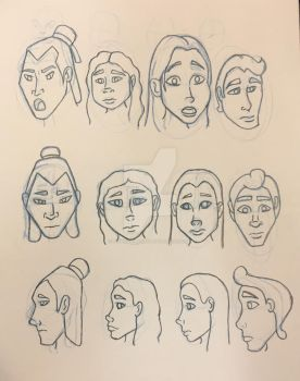 Faces by LinweCulnamo