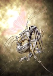 Cyborg Butterfly by sonialeong