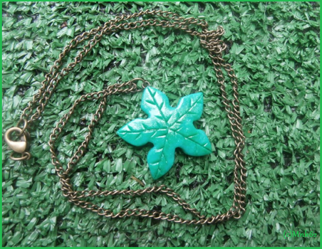 Land Before Time Tree Star Clay Necklace by Monkiki62