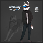 Whiskey (anthro) by NOVlCE