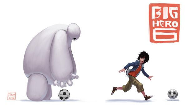 Big hero 6 by tokunaga3046
