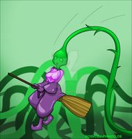 Plant Witch by Rosvo