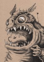 Toad Monster by bryancollins