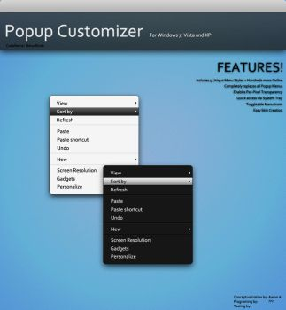 Popup Customizer :O by Aaron-A-Arts