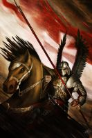 The Winged Hussar by John-Stone-Art