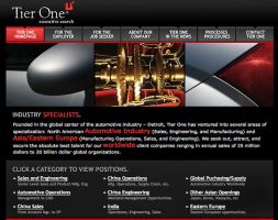 Tier One's site by spryagency