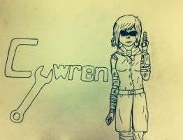 Cywren: Word Art by Javott