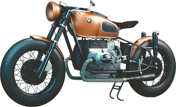 Motorcycle PNG #1 by bettadenu