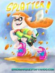 Squid Kid by TheInsaneDingo