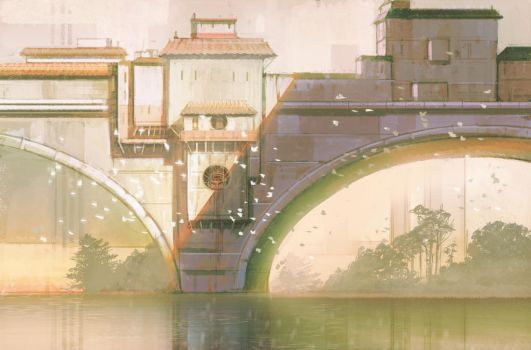 Market Bridge by hungerartist
