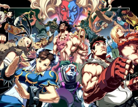 Street Fighter III Teaser by NgBoy