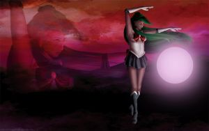 Sailor Pluto - Wallpaper pack by AerynDiana