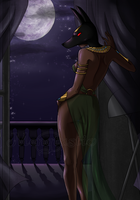 Night of Anubis by Mengtastic