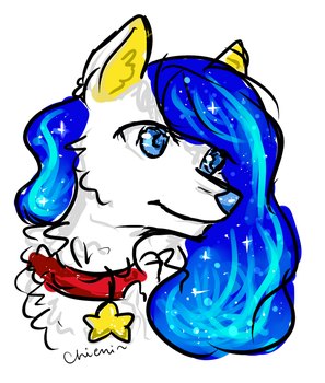 Little star by chieni