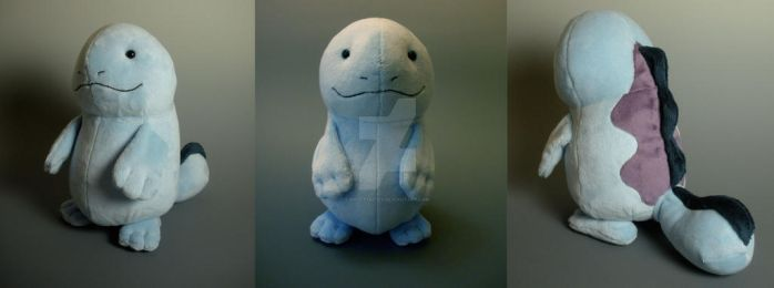 Quagsire Plushie by WhittyKitty