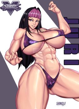 Juri from Street fighter by 5Angle