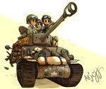 US  Easy Eight (M4A3E8 Sherman) by Arjay-the-Lionheart