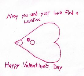 V-Day 2012 with Luvdisc by salamanderFLAME