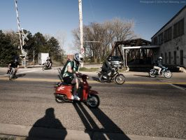 Vintage Mopeds by KBeezie