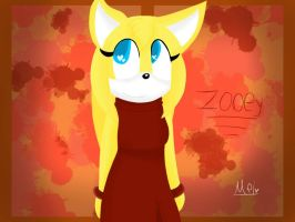Zooey The Vixen by MelTheArtist