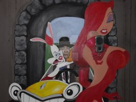 Roger Rabbit close up by Cassieprouse